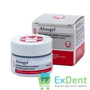 Alveogyl (Альвожил) - антисептический компресс, гемостатическая хирург. повязка (10 г)