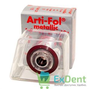 Артикуляционная фольга, красная Bausch (12 мкм х 20 м х 22 мм) односторонняя металлизированная