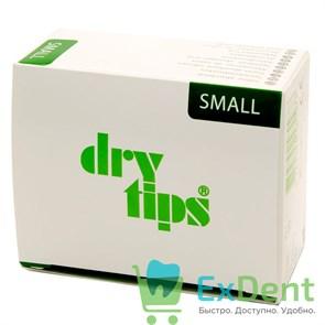DryTips (Драйтипсы) S - прокладки для впитывания слюны, малые, зеленые (50 шт)
