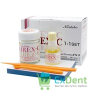 Airex-C (Айрекс) - стеклоиономерный цемент для прокладок и фиксации зубных протезов (20 г + 15 г)