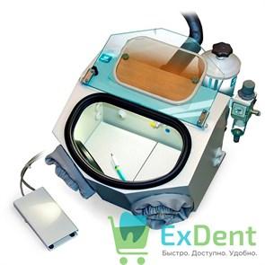 Аппарат пескоструйный  Аверон  АСОЗ 5.1 С - для зуботехнических лабораторий с одним струйным модулем
