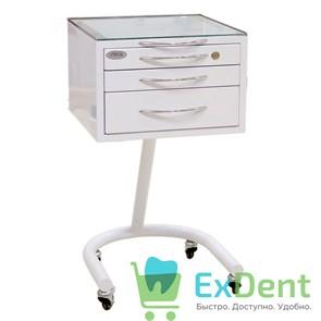 Стол стоматолога подкатной С3 с 3 ящиками