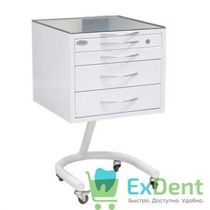 Стол стоматолога подкатной С4 с 4 ящиками