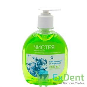 Жидкое мыло с антибактериальным эфектом Чистея (300 мл)