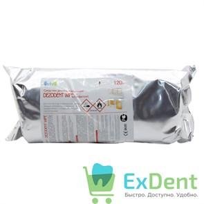 Салфетки дезинфецирующие Dezodent Wipe, сменный блок (120 шт)