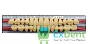 Гарнитур акриловых зубов A4, S4 Gloria New Ace (28 шт)