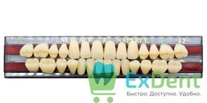 Гарнитур акриловых зубов A2, S4 Gloria New Ace (28 шт)