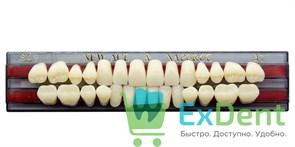 Гарнитур акриловых зубов A1, S4 Gloria New Ace (28 шт)