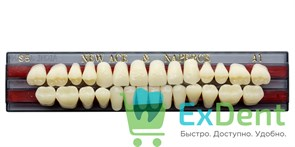 Гарнитур акриловых зубов A1, S5 Gloria New Ace (28 шт)