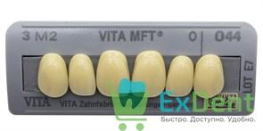 Гарнитур фронтальных зубов, 3M2, O44, Vita MFT (6 шт)