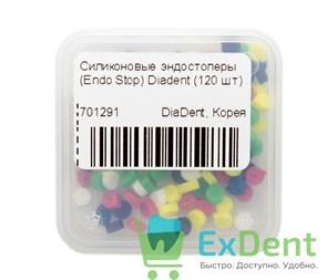 Силиконовые эндостоперы (Endo Stop) Diadent (120 шт)